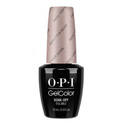 OPI GelColor - Press * for Silver