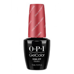 OPI GelColor - Love is in my Cards
