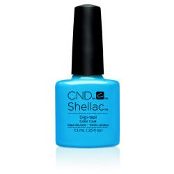 CND Shellac Digi-Teal