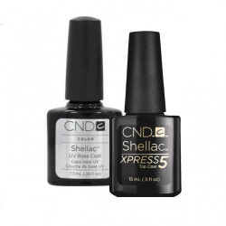 CND Shellac Base & Express5 Top Coat 7.3ml