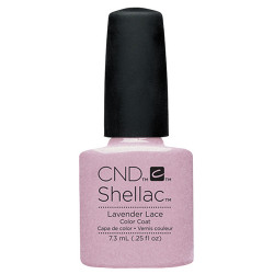CND Shellac Lavender Lace