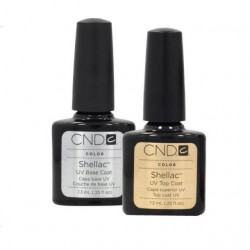 CND Shellac Base & Top Coat 7.3 m