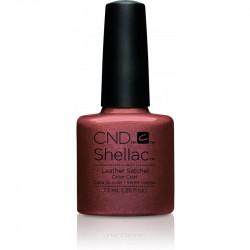 CND Shellac Leather Satchel