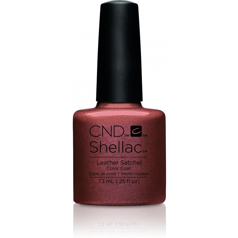 CND Shellac Leather Satchel