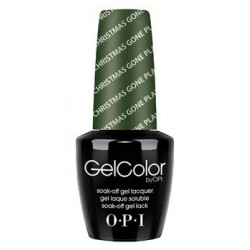 OPI GelColor - Christmas Gone Plaid