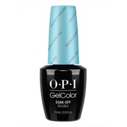 OPI GelColor Sailing & Nail-ing