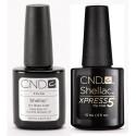 CND Shellac Base & Express5 Top Coat 7.3ml