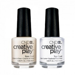 CND Creative Play Base & Top Coat