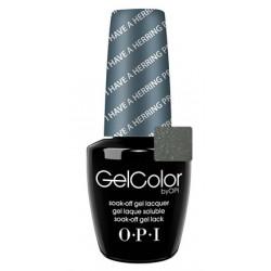 OPI GelColor - I Have a Herring Problem