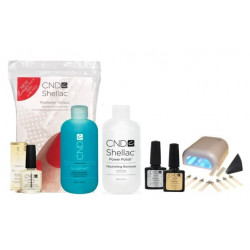CND Shellac Starter Set inkl. LED Lampe