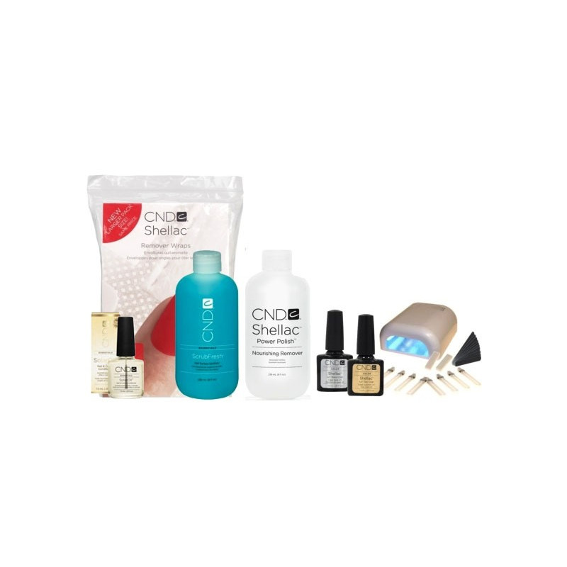 CND Shellac Starter-Set incl. LED Lamp