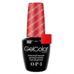 OPI GelColor - I Eat Mainely Lobster