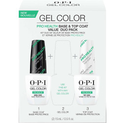 OPI GelColor ProHealth Technology Base and Top Coat Duo Pack