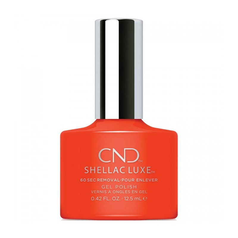 CND Shellac Luxe - Electric Orange
