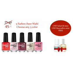 CND Creative Play - 5 Farben