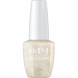 OPI GelColor Snow Glad I Met You