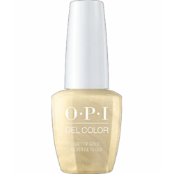 OPI GelColor Gift of Gold Never Gets Old