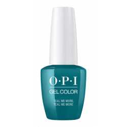 OPI GelColor Teal Me More, Teal Me More