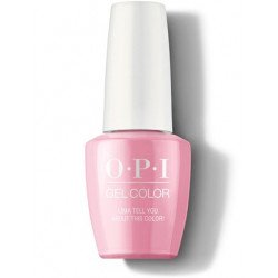 OPI GelColor Lima Tell You About This Color!
