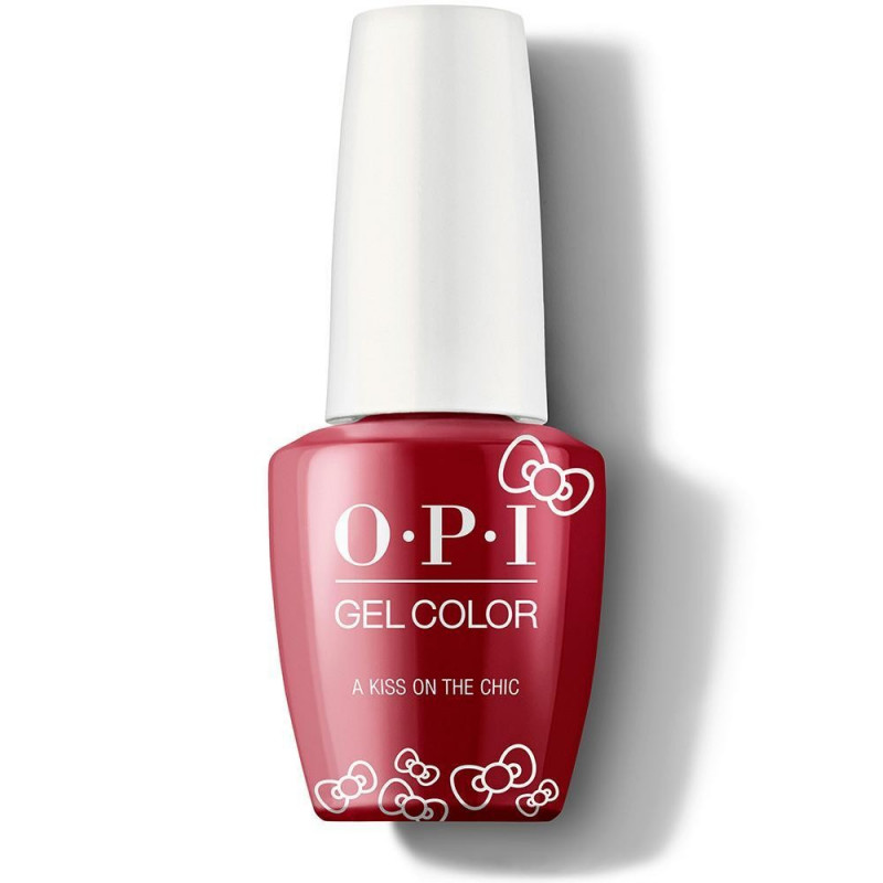 OPI GelColor - A Kiss On The Chic
