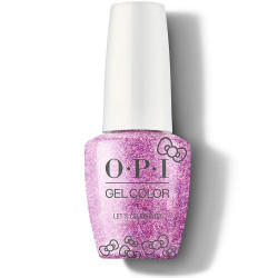 OPI GelColor - Let's Celebrate!