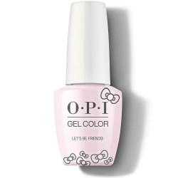OPI GelColor - Let's Be Friends!