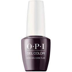 OPI Gelcolor Good Girls Gone Plaid