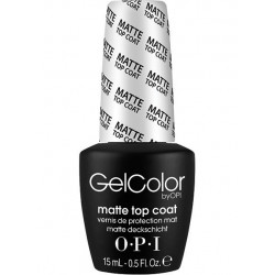 OPI GelColor - Matte Top Coat 15 ml