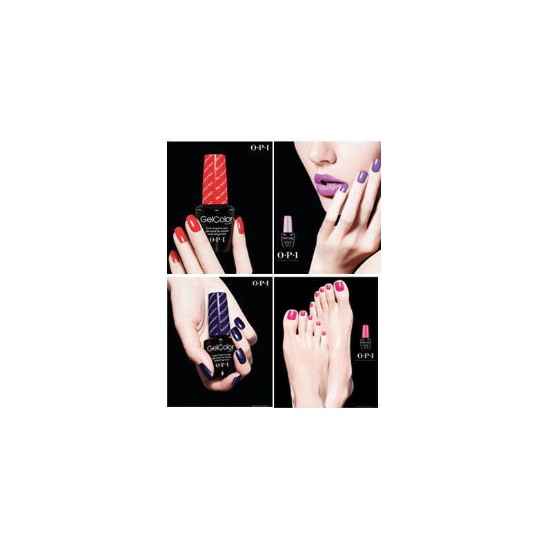 OPI GelColor Salon Poster Set