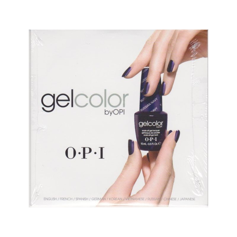 OPI GelColor Education DVD