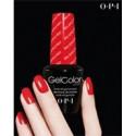 OPI GelColor Salon Poster - Big Apple Red