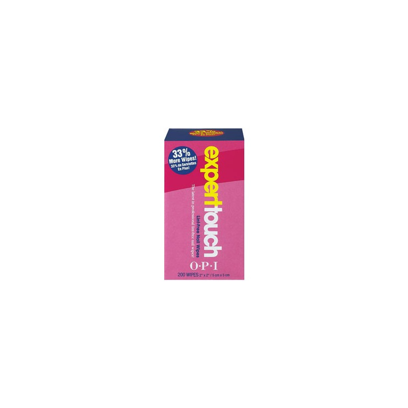 OPI Lint-Free Nail Wipes 200 Stk.