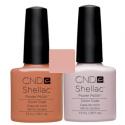 CND Shellac Cocoa + Romantique