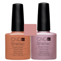 CND Shellac Cocoa + Strawberry Smoothie