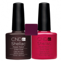 CND Shellac Fedora + Hot Chilis