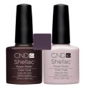 CND Shellac Fedora + Romantique