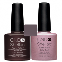 CND Shellac Fedora + Strawberry Smoothie