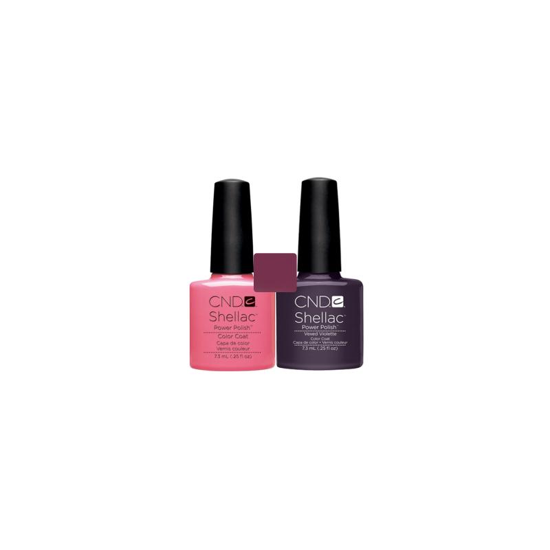 CND Shellac Gotcha + Vexed Violette