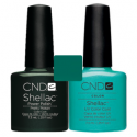 CND Shellac Pretty Poison + Hotski to Tchotchke