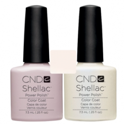 CND Shellac Romantique + Negligee
