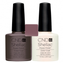 CND Shellac Rubble + Moonlight & Roses