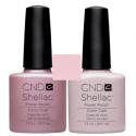 CND Shellac Strawberry Smoothie + Romantique