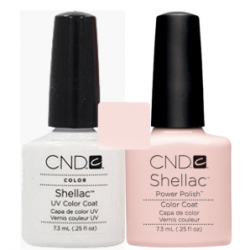 CND Shellac Studio White + Beau