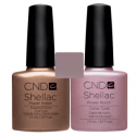 CND Shellac Sugared Spice + Strawberry Smoothie