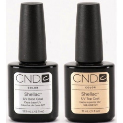 CND Shellac Base 12.5 ml & Top Coat 15 ml