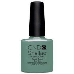 CND Shellac Sage Scarf