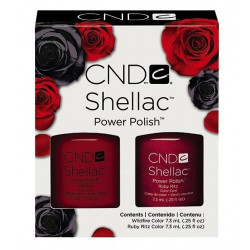 CND Shellac Ruby Ritz & Wildfire