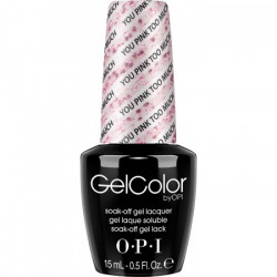 OPI GelColor - You Pink Too Much