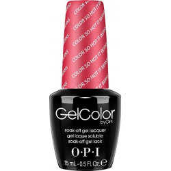 OPI GelColor - Color So Hot It Berns