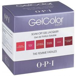 OPI GelColor - Femme Fatales